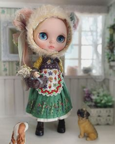 Cute Dolls, Blythe Dolls, Creepy, Doll Clothes, Hello Kitty, Christmas Ornaments, Holiday Decor, Instagram, Gothic Dolls