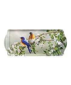 Another great find on #zulily! Vintage Blue Birds Serving Tray by Ashdene #zulilyfinds