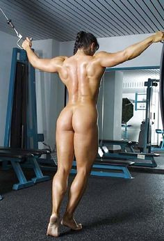 AMAZING MUSCULAR BACK, ROCK HARD DREAM GLUTES & SEXY STRONG LEGS of Cindy Landolt Swiss #Fitness model : if you LOVE Health, Exercise & #Fitspiration - you'll LOVE the #Motivational designs at CageCult Fashion: http://cagecult.com/mma
