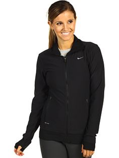 I LOVE this Nike Jacket with the thumb holes!