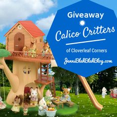 #Giveaway: Enter To #Win A Calico Critters Family! - Jenn's Blah Blah Blog - Travel, Recipes, Tech Talk, Giveaways and Sweepstakes, Product ...