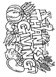 thanks giving that you can coler | of Thanksgiving type images for you to print out. You can color ... Free Thanksgiving Coloring Pages, Turkey Coloring Pages, Food Coloring Pages, Thanksgiving Worksheets, Coloring Sheets For Kids, Printable Coloring Pages, Coloring Books, Fall Coloring, Coloring Worksheets