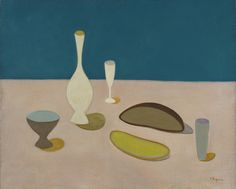 Vera Pagava, 'Nature morte sur une table', 1945-1950