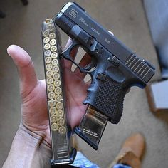 Glocks Daily Loading that magazine is a pain! Get your Magazine speedloader today! http://www.amazon.com/shops/raeind