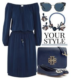 """""""Your Style"""" by rasa-j ❤ liked on Polyvore featuring Tory Burch and Pussycat"""
