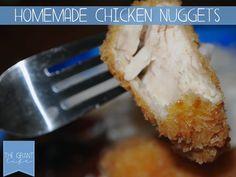 Easy Homemade Recipes: Homemade Chicken Nuggets