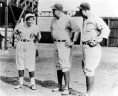"""Virne Beatrice """"Jackie"""" Mitchell.  The only female pitcher to strike out Babe Ruth and Lou Gehrig back-to-back!  Chattanooga Lookouts vs. New York Yankees Exhibition Game, April, 1931"""