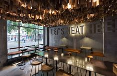 Dneastudio: Shade Burger, Ucrania  by YOD design