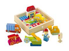 Transportation Play Puzzle #81677 #sevi #magicforesttoys