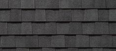 LANDMARK-color is Black Morie-Landmark™ - Designer - Residential - Roofing - CertainTeed Good! This color in stock! House Paint Exterior, Exterior House Colors, Exterior Design, Roof Shingle Colors, Roof Colors, Certainteed Shingles, Roofing Shingles, Asphalt Shingles, Roof Replacement Cost
