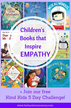 Explaining compassion and empathy to young children isn't easy. But these moving picture books will help kids see what compassion and kindness look like. Learning Activities, Activities For Kids, Teaching Resources, Teaching Empathy, Student Teaching, Books About Kindness, Preschool Books, Kindergarten Books, Emotional Development