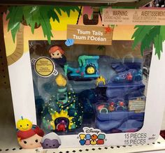 Tsum Tsum Toys, Disney Tsum Tsum, Disney Toys, Disney Fun, Disney Babies, New Little Mermaid, Advent Calendars For Kids, Tsumtsum, Disney Figurines