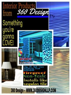 Interior designers keep posted-new and exciting stuff to come! Ideas for your home or office that beat boring wallpaper and dull orange peel! Add some safety to your space 360 Design, Orange Peel, Your Space, Tiles, Safety, Designers, Wallpaper, Interior, Home