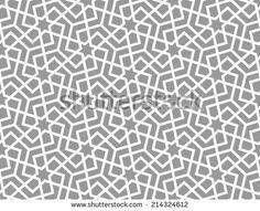 Geometric arabic seamless pattern. Abstract background.