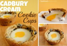 Cadbury Creme Cookie Cups