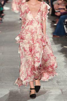 PHILOSOPHY | Ruffled printed silk-georgette maxi dress | NET-A-PORTER.COM