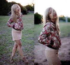 Romwe Jacket, Finders Keepers Skirt, Jeffrey Campbell Lita   Tonal (by J L)   LOOKBOOK.nu