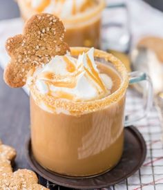 Slow Cooker Gingerbread Latte | 15 Non-Alcoholic Holiday Drink Recipes For All | The Perfect Drinks for Thanksgiving,Christmas Part and for Pregnant Women.