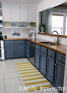 can we paint kitchen cabinets you considered using blue for your kitchen cabinetry 8050