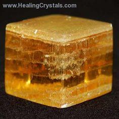 Cube - Copal Colombian Amber Cubes- Copal - Healing Crystals