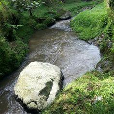 Big stone, riverside, still @Ron Haydon Bay waterfall lembang, bandung