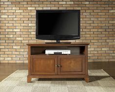 Buy Crosley Furniture Newport 42 Inch TV Stand in Classic Cherry on sale online