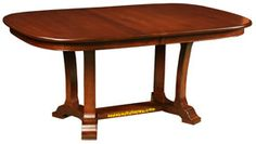 """Amish Handcrafted 42"""" x 66"""" Master Table: Cherry"""