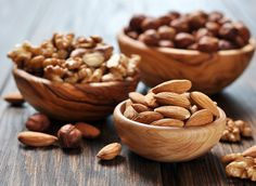 Go nuts! It's just one of five foods that can help you fight stress. | http://www.eatthis.com/5-foods-fight-stress