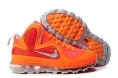buy popular 8e76f 5dc4c Find Cheap Designer Nike Lebron 9 Max Fusion Lebron James Shoes Orange Red  Grey online or in Kdshoes. Shop Top Brands and the latest styles Cheap  Designer ...