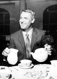 Tea with Cary Grant.