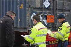 Er wordt streng gecontroleerd op vervoersdocumenten.