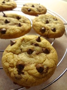 Rolo Stuffed Chocolate Chip Cookies: The Briarwood Baker.