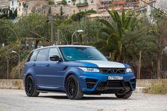 400-сильный Range Rover Sport Larte Design