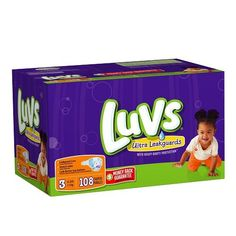 Luvs With Ultra Leakguards Big Pack Size 3 Diapers 108 Count *** Click image to review more details.-It is an affiliate link to Amazon.