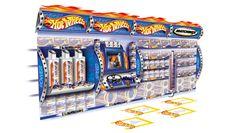 Retail Point of Purchase Design | POP Design | Toys & Games POP | Mattel - Hot Wheels Island Unit (Design Activity)