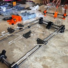 Building 2 #3D printer Simultaneously #3dprinting  #3d #efficient #progression by ivanchoe