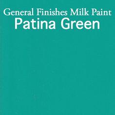 Milk Paint Patina Green Pint