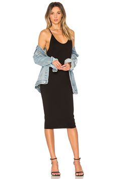 by the way. Kya Backless Midi Dress in Black | REVOLVE