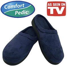 Elite Plush Memory Foam Slippers As Seen on TV $10.49