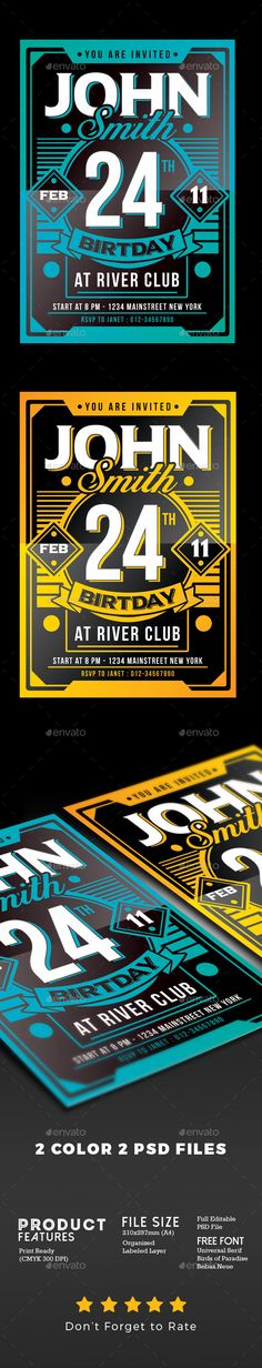 Vintage Music Event Flyer Template Psd  Flyer Templates