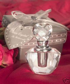 $3.80 100 x Crystal Perfume Bottle Wedding Bombonieres Favour