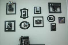 I finally did it....#vintage cameras