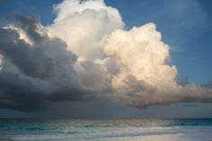 Summer clouds, again.