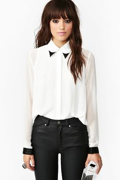 Black and White shirt