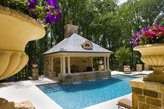 Dukas Pool House - pool - dc metro - Lewis Aquatech