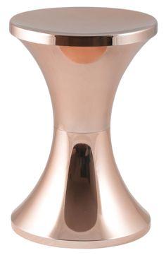 Tam tam chromé Stool Copper by Branex Design