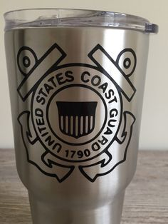 U.S. Coast Guard Decal by 5thRowSouth on Etsy
