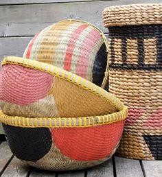 good idea - paint baskets