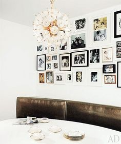 {décor inspiration : gallery walls} by {this is glamorous}, via Flickr