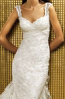 Also like the lace straps and details of this, and the neckline.